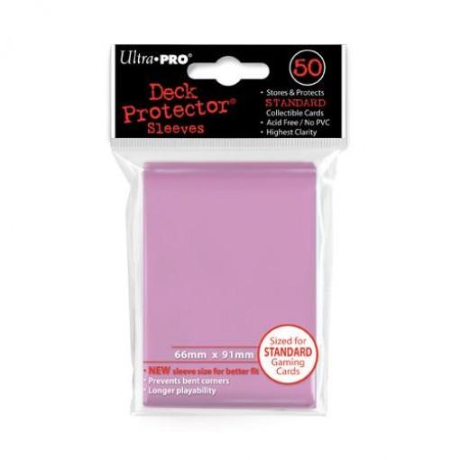 Ultra·Pro 纯色磨砂牌套 粉色 50张 尺寸66mmx91mm #82674