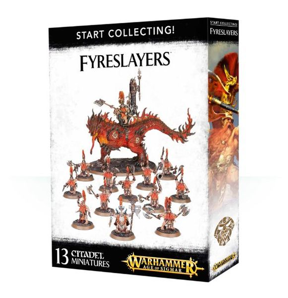 START COLLECTING! FYRESLAYERS