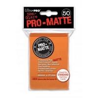 Ultra·Pro 纯色双面磨砂牌套 橙色 50张 尺寸66mmx91mm #84184