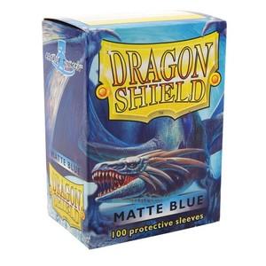 龙盾 蓝色磨砂牌套 100张盒装 11003