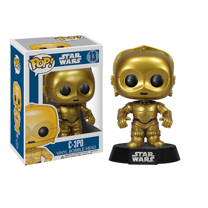 FUNKO 星球大战POP公仔机器人C-3PO