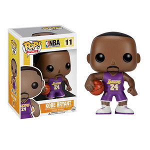 FUNKO 运动NBA POP公仔科比紫衣