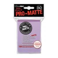 Ultra·Pro 纯色双面磨砂牌套 淡紫色 50张 尺寸66mmx91mm #84504