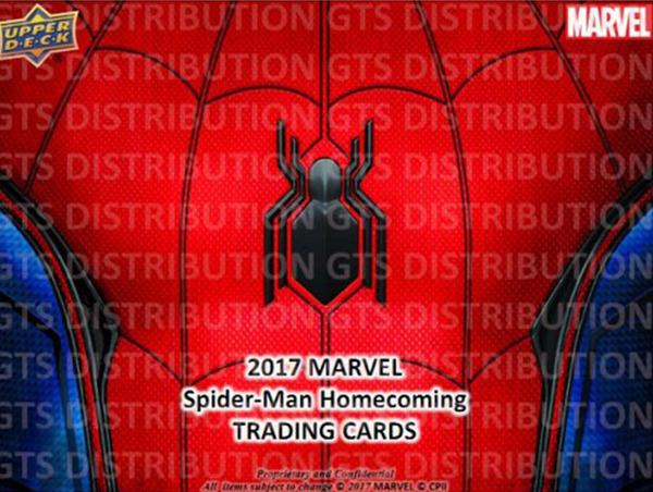 2017 Upper Deck Marvel Spider-Man Homecoming 蜘蛛侠归来
