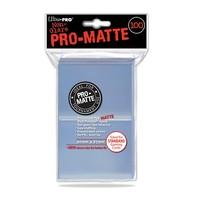 Ultra·Pro 双面磨砂牌套 透明色 100张 尺寸66mmx91mm #84731