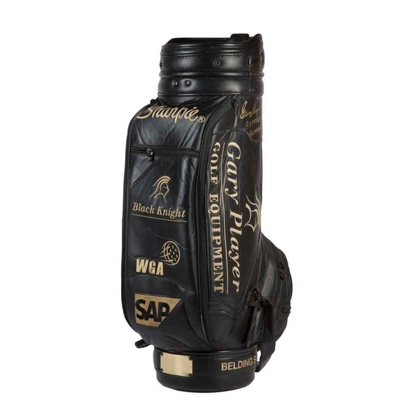 GARY PLAYER AUTOGRAPHED TOURNAMENT-USED GOLF BAG
