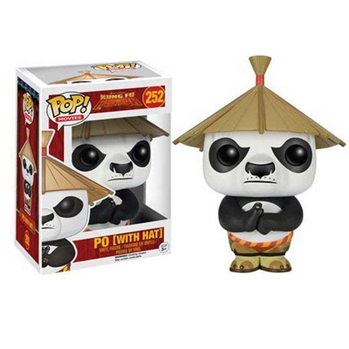 FUNKO 功夫熊猫POP公仔戴帽子的阿宝