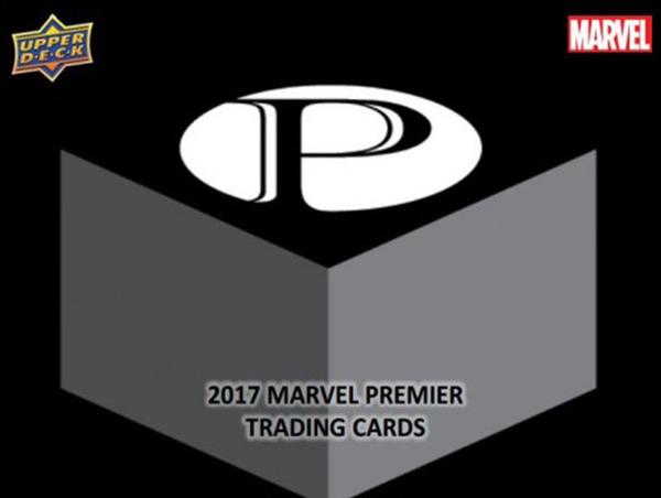 2017 Upper Deck Marvel PREMIER 漫威 高端白金系列