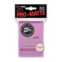 Ultra·Pro 纯色双面磨砂牌套 粉色 50张 尺寸66mmx91mm #84185