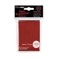Ultra·Pro 纯色磨砂牌套 红色 50张 尺寸66mmx91mm #82672