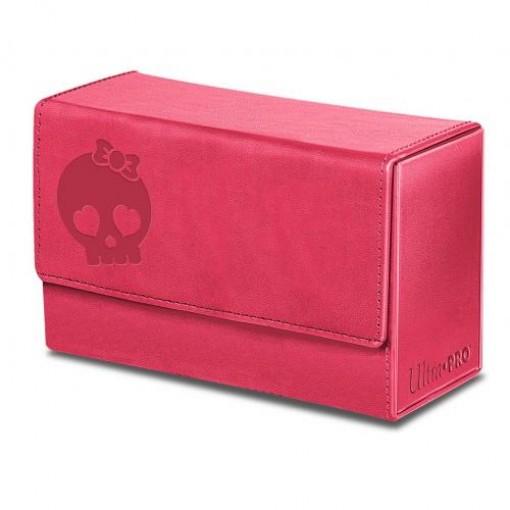 Ultra·Pro 新材质 粉色骷髅 对决牌盒 #84400