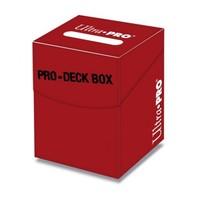 Ultra·Pro 专业100+纯色牌盒 红色 #82887
