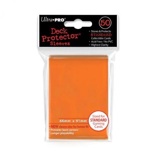 Ultra·Pro 纯色磨砂牌套 橙色 50张 尺寸66mmx91mm #82673