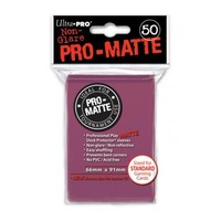 Ultra·Pro 纯色双面磨砂牌套 黑莓色 50张 尺寸66mmx91mm #84505