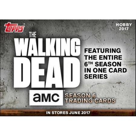 2017 Topps Walking Dead Season6 封面